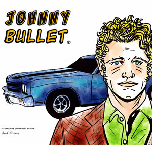 Johnny Bullet comic